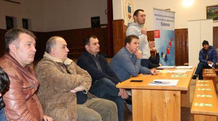 Predstavljanje projekta na zboru građana u Piškorevcima