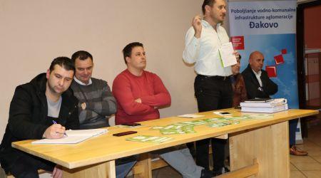Predstavljanje projekta na zboru građana u Selcima Đakovačkim